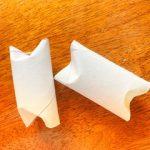 Paper Tube Dog Enrichment